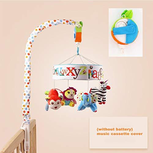 Musical Cot Mobile Muziek van de baby Bedside Bell, Cartoon Crib Opknoping New Model Set Wind-up Music Box Music Toys voor Baby