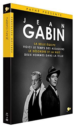 Jean Gabin-4 Films : La Belle équipe + Voici Le Temps des Assassins + Le Désordre et la Nuit et Deux Hommes dans la Ville