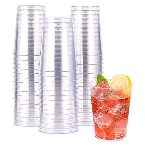 10 OZ Clear Disposable Plastic Cups