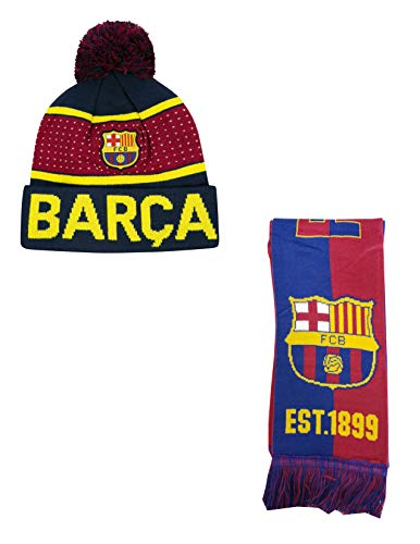 Bufanda Oficial Fc Barcelona  marca Icon Sports