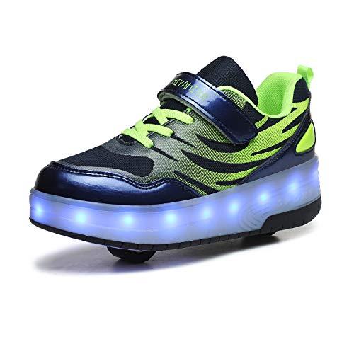 FZ FUTURE Enfants LED Chaussures à roulettes, Roue...