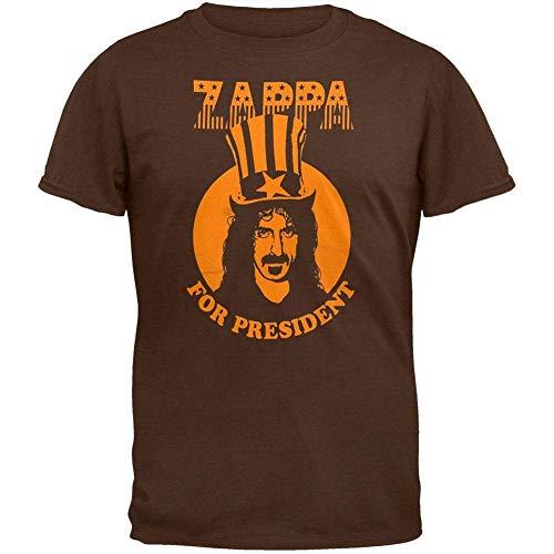 Maglietta Dazzle Frank Zappa Maglietta Uomo for President Graphic Graphic