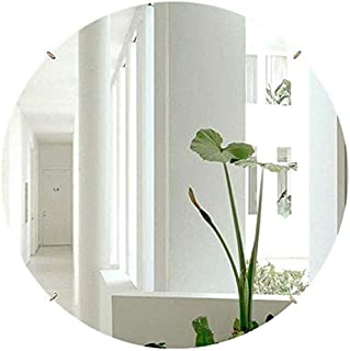 Daily Necessities Large Wall Hanging Mirror Round Clean Vanity Make Up Mirrors Circular Shaving Mirror Dressing Cosmetic Mirror (Size : 70cm) (Size : 60cm)