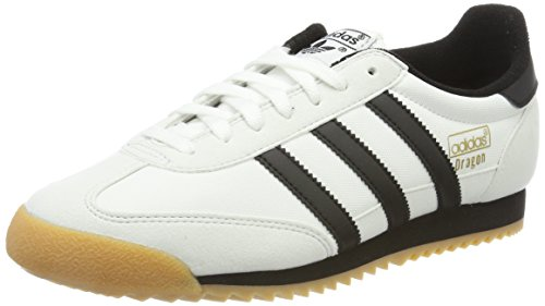Adidas Dragon OG, Zapatillas Deportivas para Interior para Hombre, Multicolor (Multicolour White), 36 EU