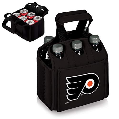PICNIC TIME NHL Philadelphia Flyers Six Pack Insulated Neoprene Beverage Tote