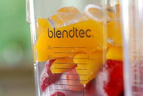 Blendtec Designer Series Blender-WildSide-Jar (90 oz) -Professional-Grade Power Self-Cleaning-6 Pre-Programmed Cycles-8-Speeds-Sleek and Slim, Black