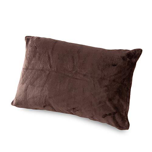mofua(モフア)枕カバー 43×90cm ブラウン 1年間品質保証 静電気防止加工 プレミアムマイクロファイバー 500...