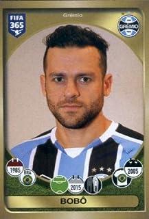 2016-17 Panini FIFA 365 #624 Bobô Grêmio Soccer Sticker