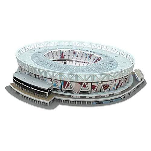 NANOSTAD 3865 West Ham United London Stadium 3D-Puzzle, Mehrfarbig