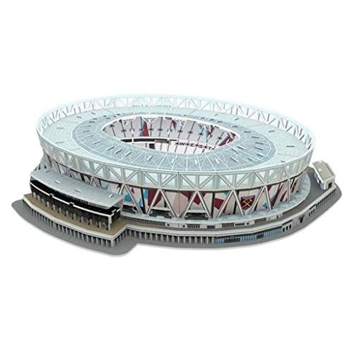 NANOSTAD 3865 West Ham United London Stadium 3D-Puzzle, Mehrfarbig