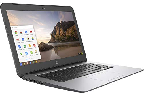 "BLACK HP CHROMEBOOK 14"" G4 INTEL CELERON N2840 2.16 GHZ 4GB RAM 16GB SSD WEBCAM CHROME OS (Renewed) 4"