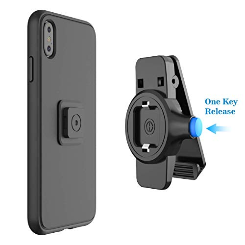 Phone Belt Clips, SPORTLINK Universal Phone Holder with Easy Mount, Quick On/Off for iPhone 11/11 Pro/11 Pro Max/X/XS/XS Max/XR, Samsung Galaxy Note 8,S8 S7 S6 Edge and Any Smartphones