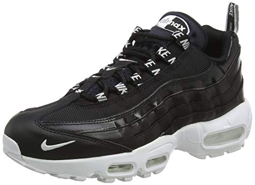 Nike Air Max 95 Premium 538416-020, Scarpe da Ginnastica Basse Uomo, Nero (Black), 42 1/2 EU