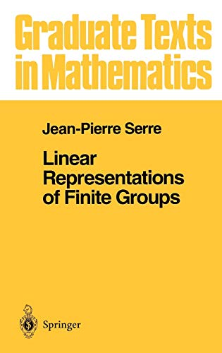 Linear Representations of Finite Groups (Graduate Texts in Mathematics (42), Band 42)