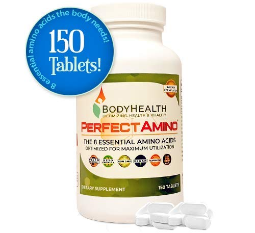 BodyHealth PerfectAmino Tablets (150 Tabs) All 8...