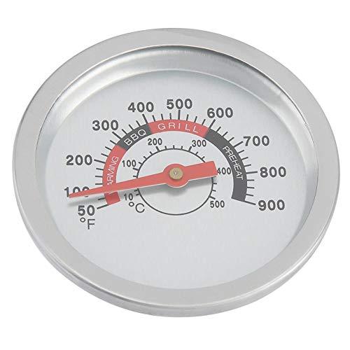 Grillthermometer aus Edelstahl, Temperaturmessgerät 10-1000 Grad Fahrenheit