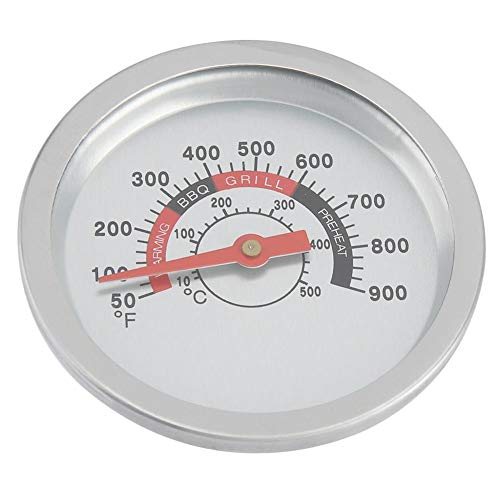 Wincal BBQ Thermometer-Stainless Steel Barbecue Smoker Barbecue Thermometer BBQ Temperature Gauge 50-900℉