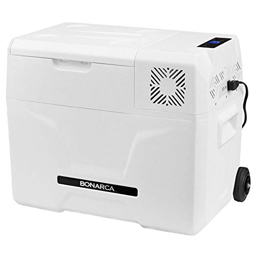 Bonarca 車載冷蔵庫 ポータブル冷蔵庫 40L 9Lー50Lの豊富なサイズバリエーション コンプレッサー式 AC100V DC12V/24V対応 CRX-400