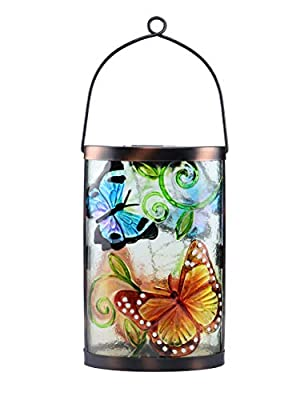 MUMTOP Outdoor Hanging Solar Lanterns Lights Waterproof Decorative Solar Lantern for Garden