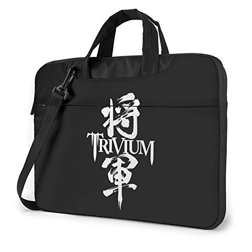 DFHDFH Trivium Laptop Bag Laptop Sleeve Case with Shoulder Straps & Handle/Notebook Computer Case Briefcase Compatible 15.6 inch