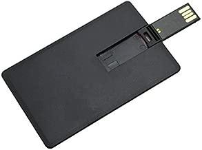 Aneew 16GB Pen Drive Black Credit Bank Card USB Flash Drive Memory Stick