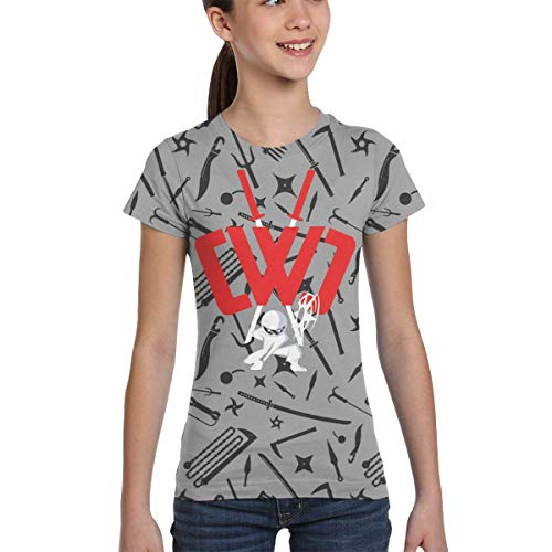 Chad Wild Clay Girl Boy T-Shirt Print Tee Youth Fashion Tops, Black5, Medium