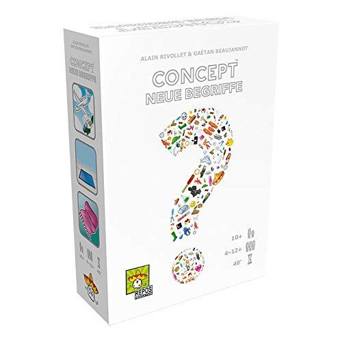 Asmodee Repos Production RPOD0019 Concept - Begriffe - Erweiterung, Familien-Spiel, Deutsch
