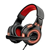 Evo Core Phenom Command LED Gaming Headset for PC MAC with Volume Control USB+ 3.5mm Jack Port