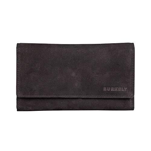 Burkely Stacey J.Waxy Wallet portemonnee L Schwarz