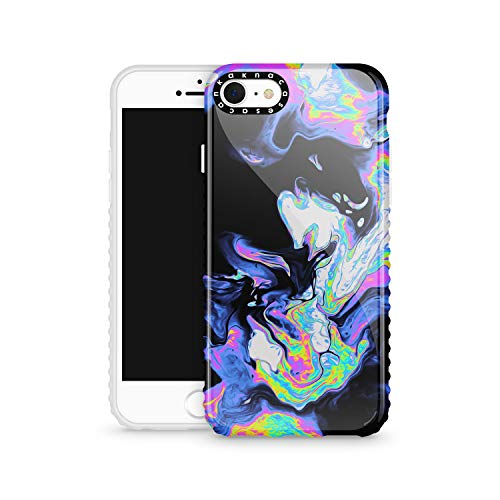 iPhone 8 & iPhone 7 & iPhone SE 2020 Case Watercolor, Akna Cat Series High Impact Silicon Cover with Ultra Full HD Graphics for iPhone 8 & iPhone 7 & iPhone SE 2020 (Design 102361-US)