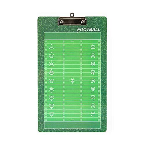 Almabner Professionelle Taktiktafel, magnetisch, tragbares Coaching-Board mit Haken, Markerstift, Radiergummi, Nicht Null, Wie abgebildet, Football