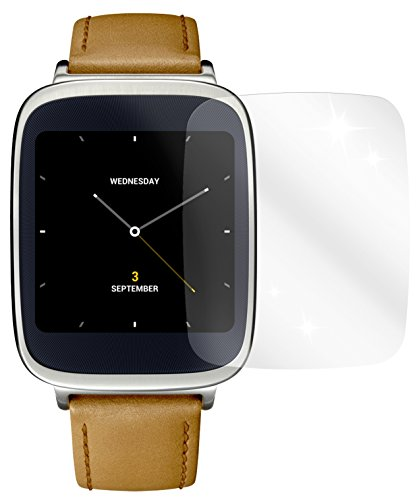 dipos I 2x Schutzfolie klar kompatibel mit Asus ZenWatch Folie Bildschirmschutzfolie