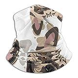 Wfispiy Patrón de pañuelo deportivo Patas de perro Bulldog francés Magic Headwear Tube Neck Gaiter Face Bandana Mask