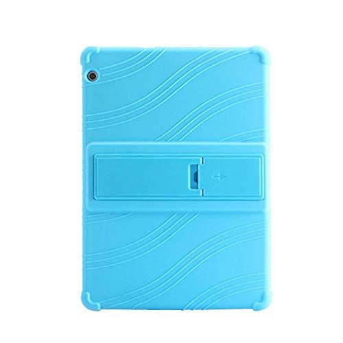 Yudesun Hüllen für Huawei MediaPad T3 10 - Stand Silikon Weich Skin Beutel Fallen Gummi Schale Schützend Hülle für Huawei MediaPad T3 10 AGS-W09 9.6