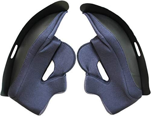 Juego de almohadillas para mejillas de HJC / juego de alfombrillas para FG-ST / FG-17, talla: XXL