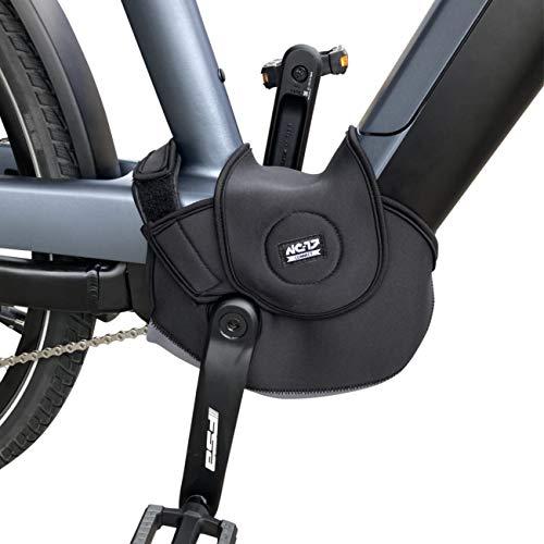 NC-17 Connect Universal Neopren Motor Cover 4.0 | Schutzhülle, Motorschutz, Abdeckung, Motorcover für E-Bikes mit Mittelmotor und integriertem Akku | One Size | Farbe Schwarz, Einheitsgröße