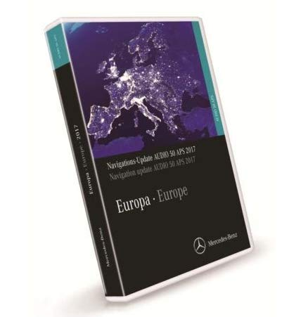 Original Navigation DVD Audio 50 APS Europe 2017 ntg2.5 A2198272500 OEM