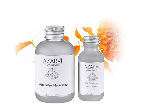 30% Glycolic Acid Peel Including After Peel Neutralizer. Get Smooth, Radiant Skin. Contains Retinol & Vitamin C. No Burning. No Peeling. Best Maintenance Peel for New Users