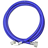 SPARES2GO Universal Washing Machine Cold Water Fill Inlet Pipe Feed Hose (2.5m)