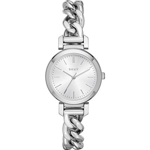 DKNY Damen Analog Quarz Uhr mit Edelstahl Armband NY2664