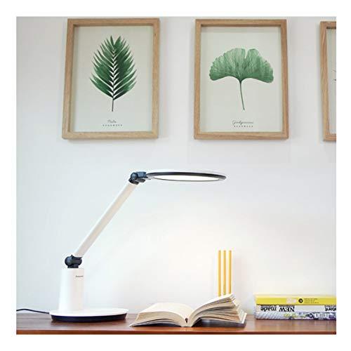 HENGTONGXUN - Lámpara de escritorio LED con pantalla Retina para el ojo de la cama, peluquerías, aprendizaje, luz fácil de usar (color blanco)