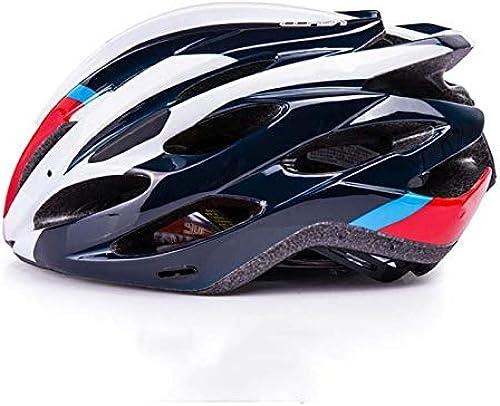 Mis Go Casque d'équitation Monobloc pour Casque de vélo de Montagne sur Route,noir,L
