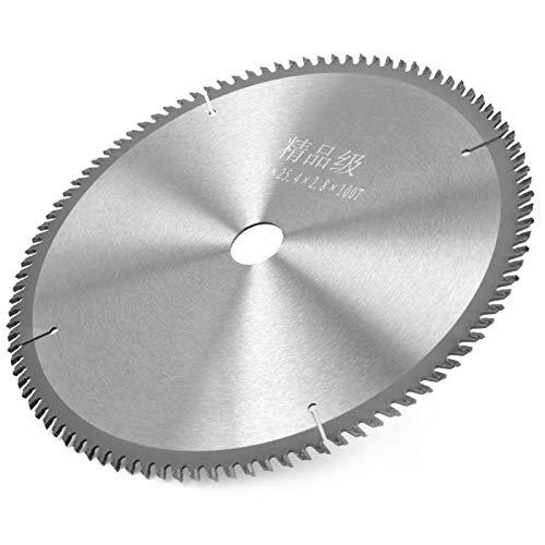 Hoja de sierra circular Carburo para sierra de mesa Amoladora angular Dientes inclinados Hoja de sierra circular compacta