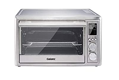 Galanz 30L Digital Air Fry Toaster Oven With Rotisserie, Stainless Steel