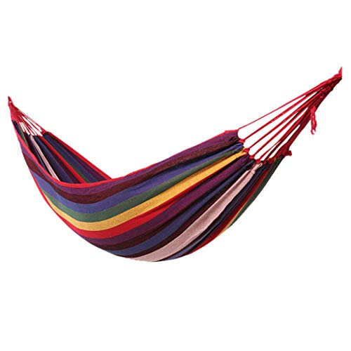 Aploa Camping Hammocks Chair Hammock 100kg Load Capacity Portable Breathable Single Hammock For Outdoor Hiking Travel Backpacking Swing Bed Garden Furniture For Garden Swing Chairs