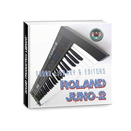 ROLAND Juno-2 enorme fábrica original y nueva biblioteca de sonido creada y editores en CD o descargar