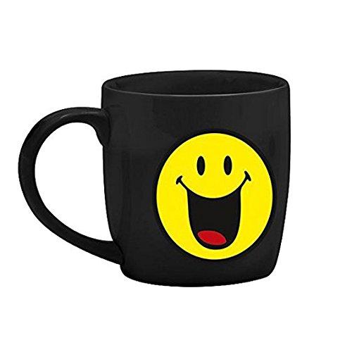 Zak designs 6727-8511 Mug Café Porcelaine Noir 20 cl