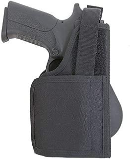 Kahr MK9 Compatible Holster - Paddle Holster for Gun with Laser/Light - Old-World Craftsmanship (4811)