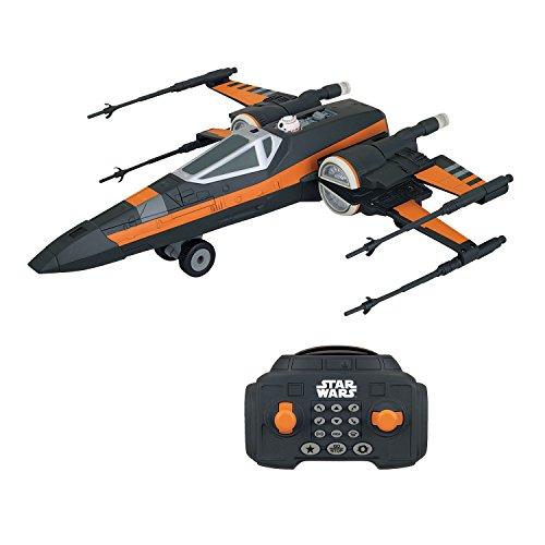 MTW Toys 3108200 – Star Wars Episode VII, RC U Command x – Wing, avec télécommande, env. 30 cm