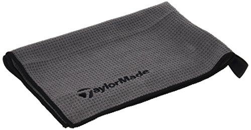 TaylorMade Microfiber Cart Toalla de Golf, Unisex Adulto, Gris, 15' x 24'
